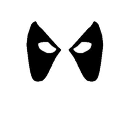 deadpool mask template deadpool roblox