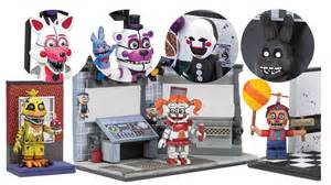 Mcfarlane toys fnaf wave 3 photos spring 2017 preview youtube