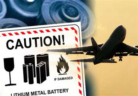 lithium batteries active bombs in the cargo deliveries