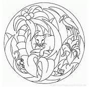 Vous &234tes Ici  Accueil Coloriage A Imprimereu &gt Mandala Animaux