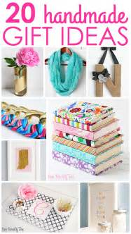 gift ideas 20 handmade gift ideas