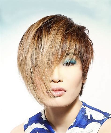 short pixie haircuts with asymmetrical bangs front and side view pixie hairstyles and haircuts in 2018