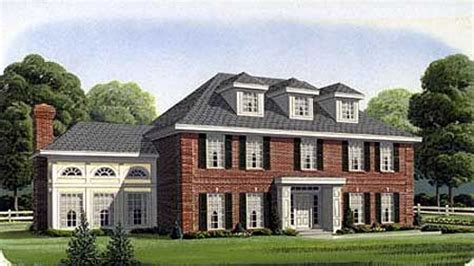 georgian style home plans southern colonial style house plans georgian style house