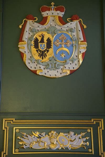 Coat Of Arms Decorations by Decorations With Coat Of Arms Of The Radzivili Family On