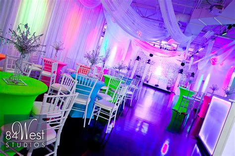 quinceanera themes glow in the dark devon s glow in the dark bar mitzvah photography