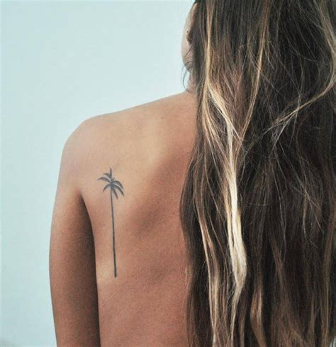 tiny palm tree tattoo 101 shoulder inspirations for