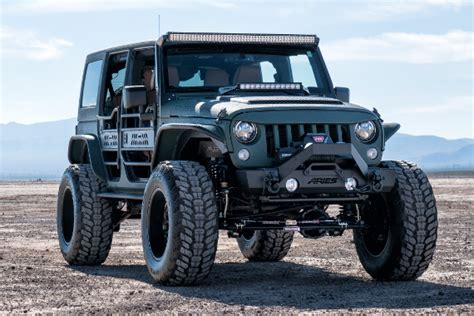 jeep jk cut fender flares aries automotive product information