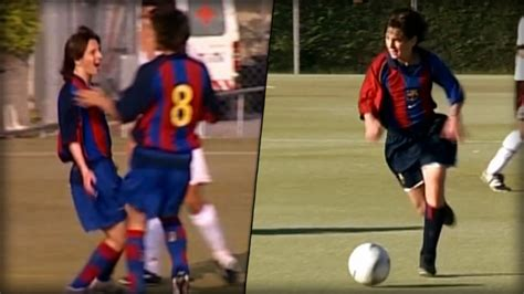 Leonel Messi Barcelona Fc Mini 2 Air Custom mini messi seine geilsten tore und dribblings aus der jugend sport bild de