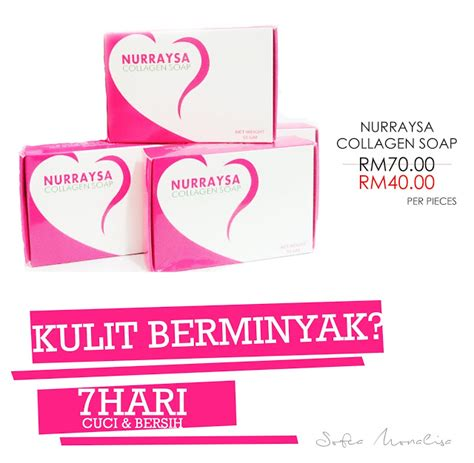Nurraysa Collagen nurraysa skincare nurraysa collagen soap order now