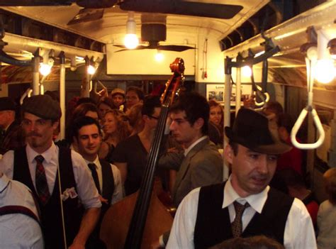 swing party nyc nyc is holding a subway swing dance party in vintage train