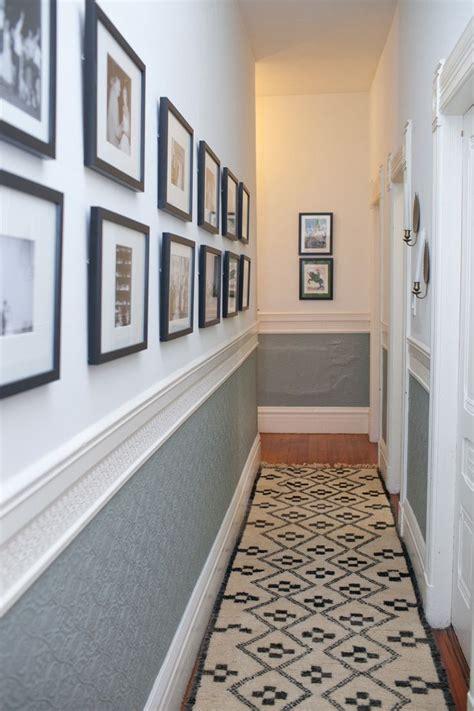 small hallway ideas images  pinterest narrow