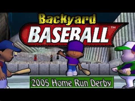 backyard home run derby game full download backyard baseball 2005 pc