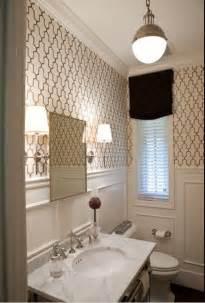 Chrome marble black small bathroom decor molding wainscoting