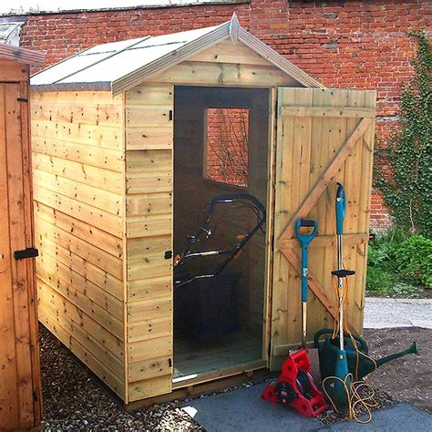 Dobbies Garden Sheds by Malvern Bewdley Apex Shed