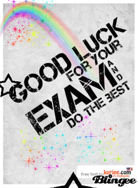exam wishes... Picture #128717496 | Blingee.com Final Exam Wishes