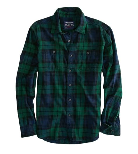 Flanel Tops just picked this sucker up american eagle no big logos soft flannel shirt in shade of