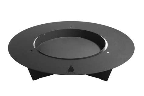 feuerschale gusseisen 100 cm fireplate feuerschale 100cm schwarz radius design