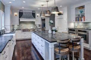 Soapstone Chicago Transitional Cottage Kitchen Glenview Il Transitional
