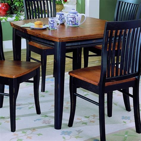 Black And Cherry Dining Table 171353 L Jpg