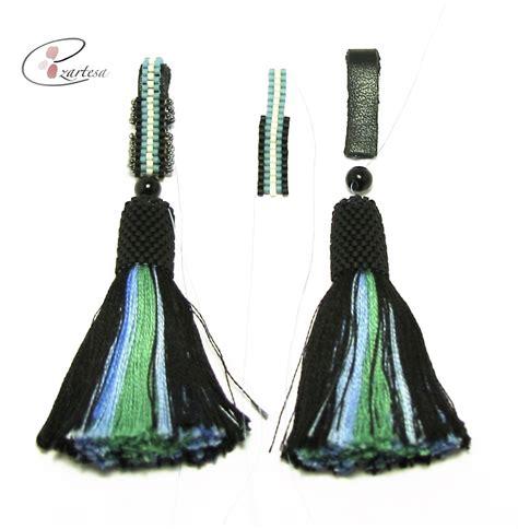 beaded tassel tutorial seed bead tutorials ezartesa all about jewelry