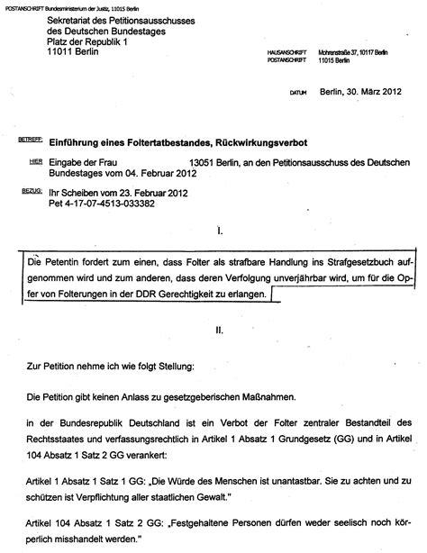Vorlage Antrag Verwaltungsgericht Folter In Der Ddr Haft Und Deutschland Dichtung Und Wahrheit Per Feststellungsklage Zum