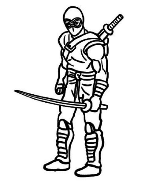 ninja sword coloring page ninja color pages murderthestout