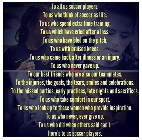 Quotes About Loving Soccer