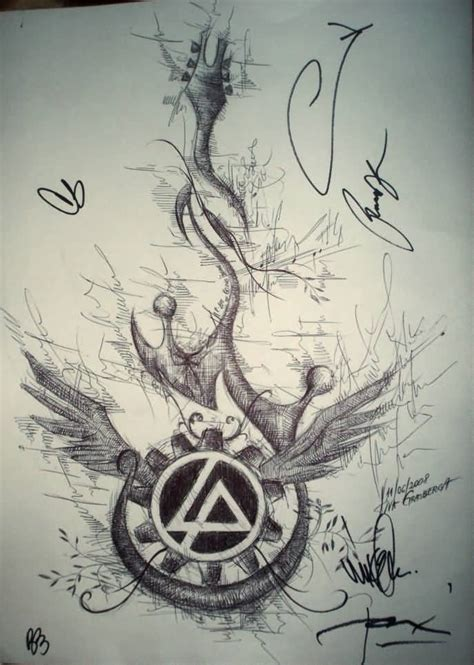 45 most famous linkin park symbol tattoos stock golfian com