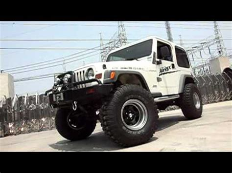 Jeep Air Suspension Jeep Wrangler With Airrex Digital Air Suspension System