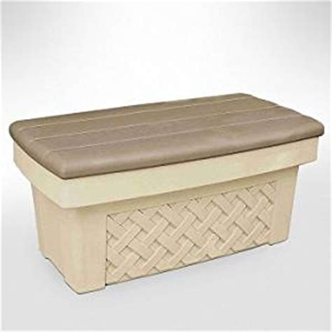 step 2 storage bench amazon com step 2 7142b2 wickerweave storage bench