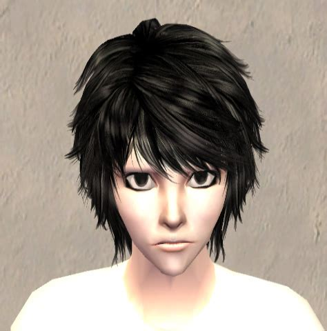 sims 4 death note cc mod the sims l lawliet from death note