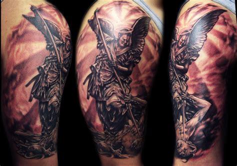 tattoo st michael angel st michael tattoo by hatefulss on deviantart