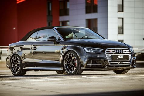 audi s3 cabrio by abt is an rs3 in disguise