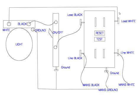 gfci outlet wiring diagrams wiring diagram and schematics