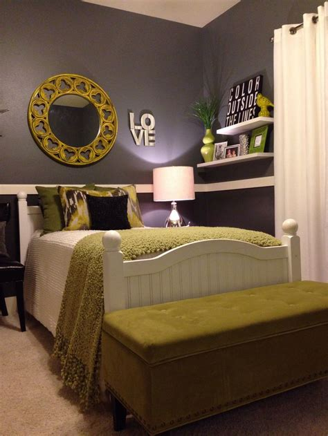 gray and green bedroom bedroom project a collection of home decor ideas to try