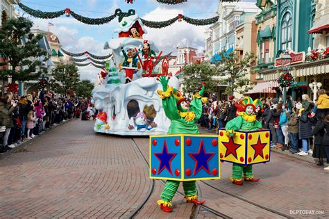 images of christmas festival new fun in the snow and toy factory floats join disney