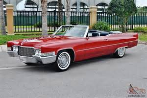 1969 Cadillac Convertible Simply Beautiful 1969 Cadillac Convertible