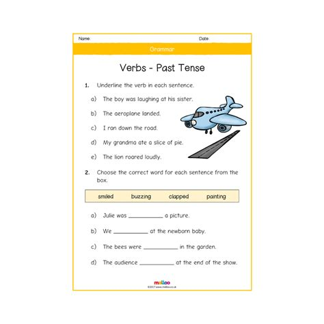 2 Year Worksheets by Grammar Year 2 Worksheets Ks1 Melloo
