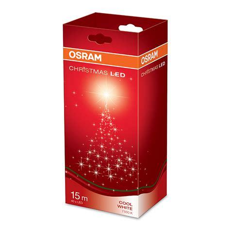 osram weihnachtsbeleuchtung innen osram led lichterkette mit 40 leuchtdioden cool daylight
