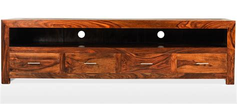 Home Design Tv Shows Uk Cube Sheesham Long Plasma Tv Cabinet Quercus Living