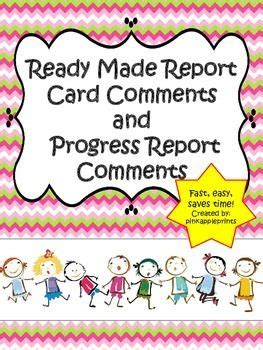 report book comments for students 1000 images about report cards on teaching