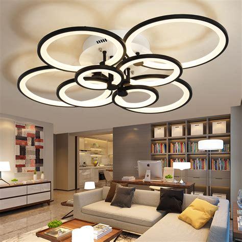 Lu Ceiling Led neo gleam remote living room bedroom modern led ceiling lights luminarias para sala