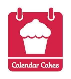 Calendar Cake Vanilla Country Garden Cupcakes Calendar