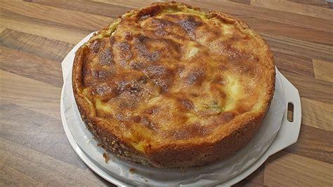 Apfelkuchen Mit Schmand Quarkguss Rezept Mit Bild
