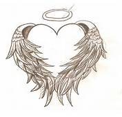 Hearts With Wings Tattooshearts And Skulls Wallpaperstars