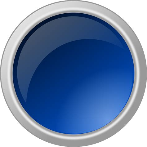Button glossy round circle blue new year s day new year s eve