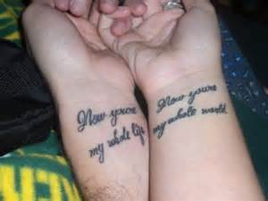 25 adorable matching tattoos for lovers sloe