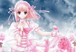 Anime Cute Pink Girls