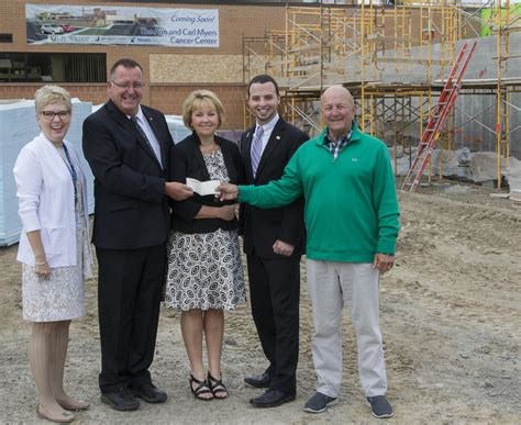 hindle funeral home donates to cancer center news the