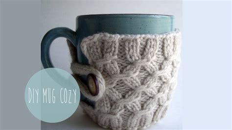 how to knit a mug cosy knitting tutorial smocked mug